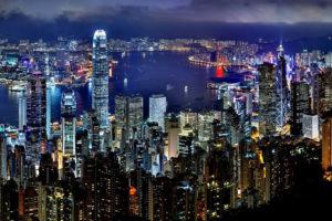 Hong Kong nightscene